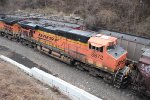 BNSF 5872 In the West Bottoms