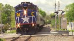 RNCX 1893 Leading Amtrak 74 into Durham, NC