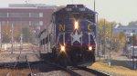 RNCX 1869 Leading Amtrak 75 into Durham, NC
