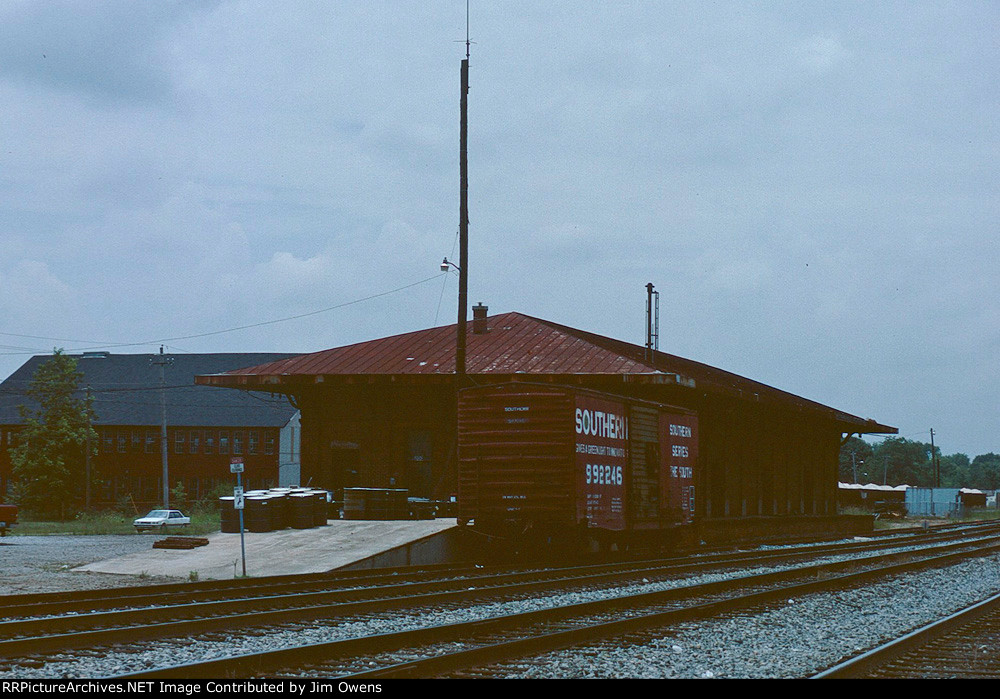 Fort Valley freight depot