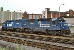 CR SD45-2's 6665 and 6659