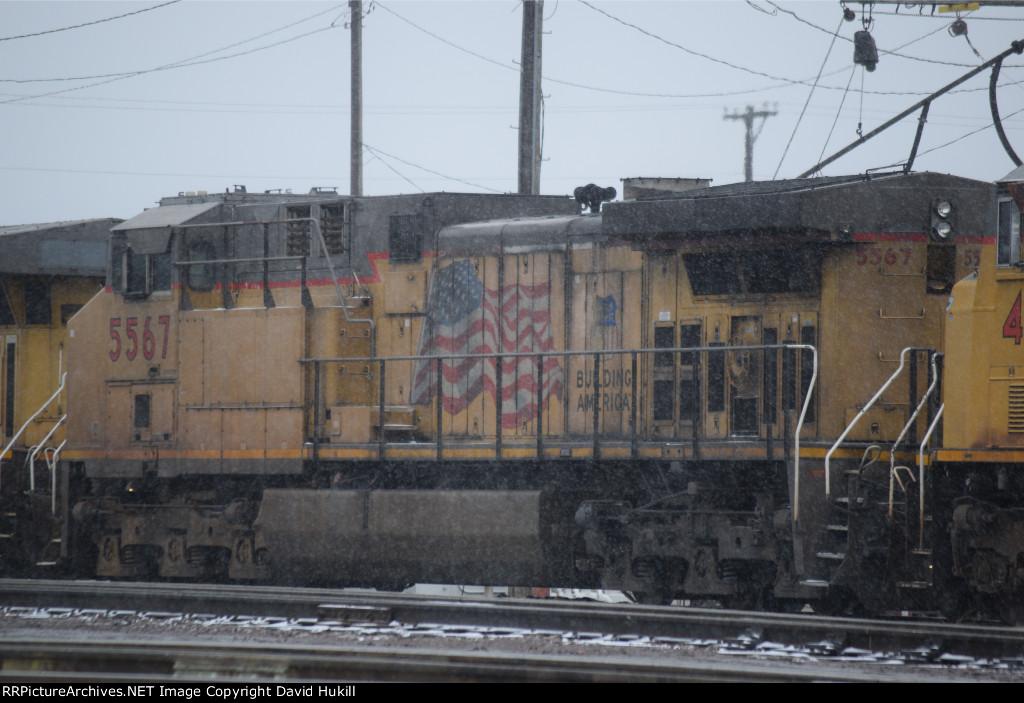 UP Engine 5567, Des Moines IA