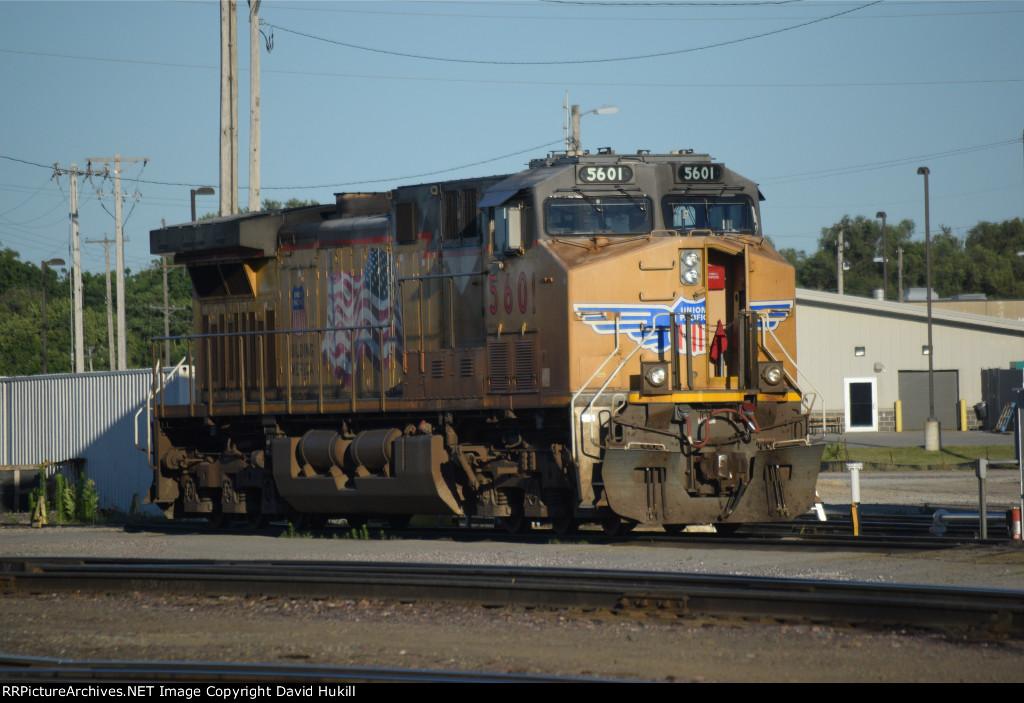 UP Engine 5601, Des Moines IA