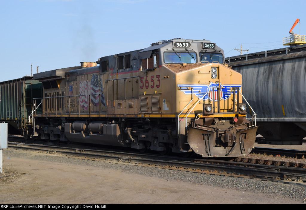 UP Engine 5653, Des Moines IA