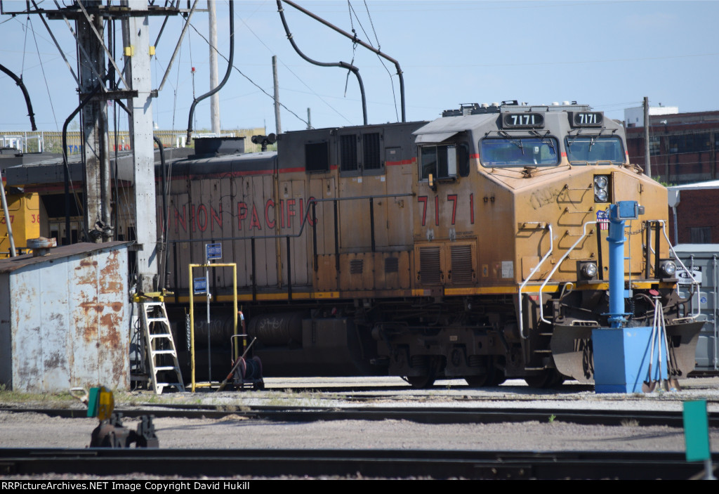 UP Engine 7171, Des Moines IA