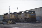 UP Engines 8445 and 8558, Des Moines IA
