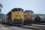 UP Engines 8771 and 6733, Des Moines IA