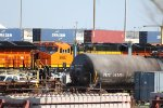 BNSF 3987 and 3968