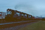 NS 048, the Strates Carnivall Train rolls north through Easley.