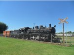 Steam Engine and Caboose