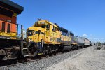 Yellowbonnet 2791 trails on BNSF 5041 West
