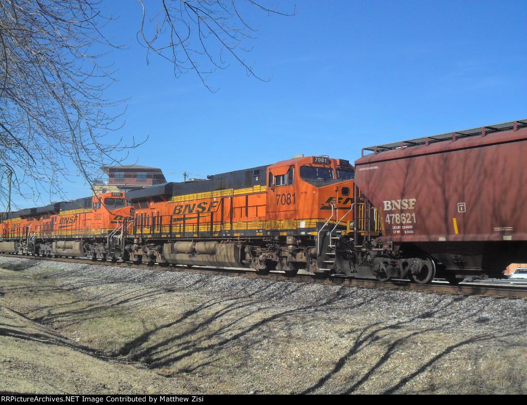 BNSF 6032 7081