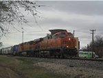 BNSF 7454 4930 CITX 6055