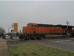 BNSF 3940 Is Pulled Over
