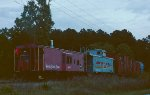 NKP caboose 465 on the rear.