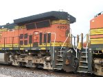BNSF 4850, left rear view
