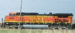 BNSF 4889, conductor's side view