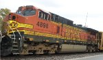 BNSF 4898, conductor's side view