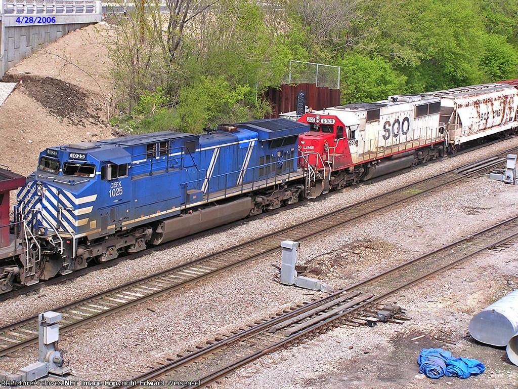 CEFX 1025 bluebird is third