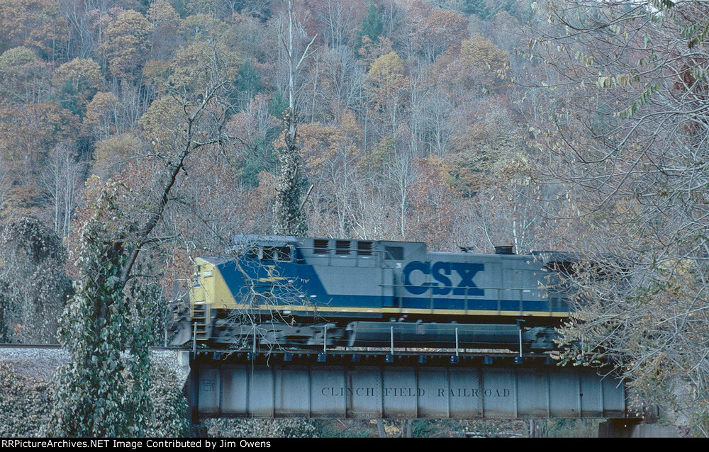 CSX 7 on a southbound.
