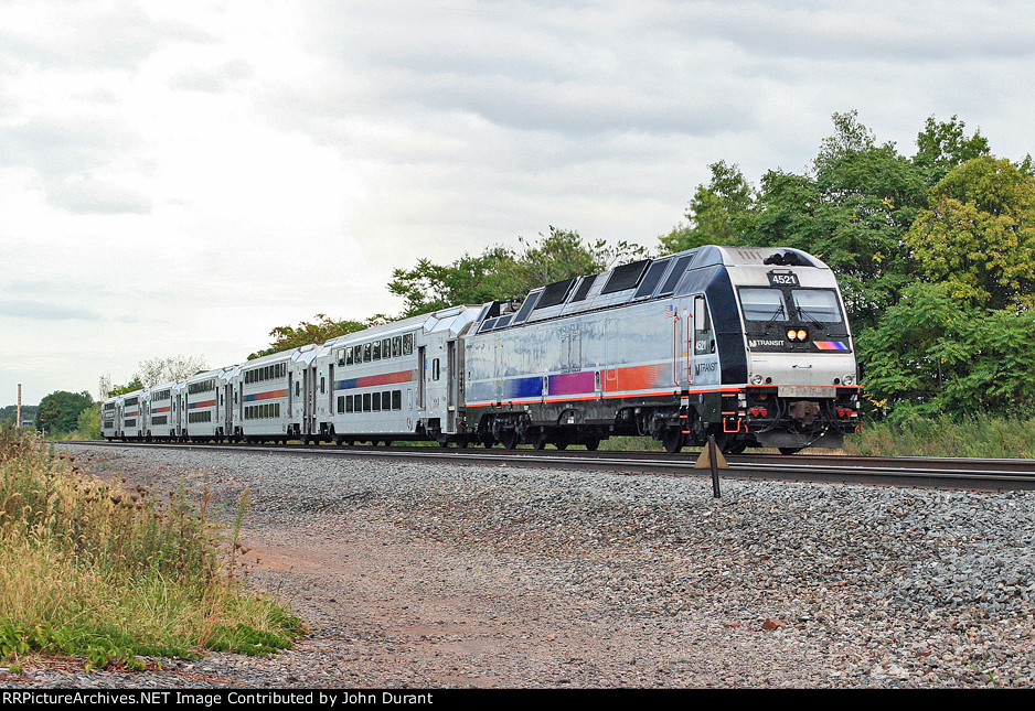 NJT 4521 on Train 5441
