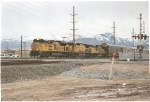 UP 8369 arriving at Salt Lake City intermodal yard