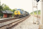 CSX 616 with two CSX