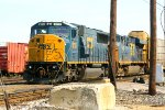 CSX 8733, and CSX 5409 having a crew change in Frontier Yard