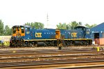 CSX 1167, and CSX 1188 tied down in Frontier Yard