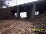 Westbound under the GSP