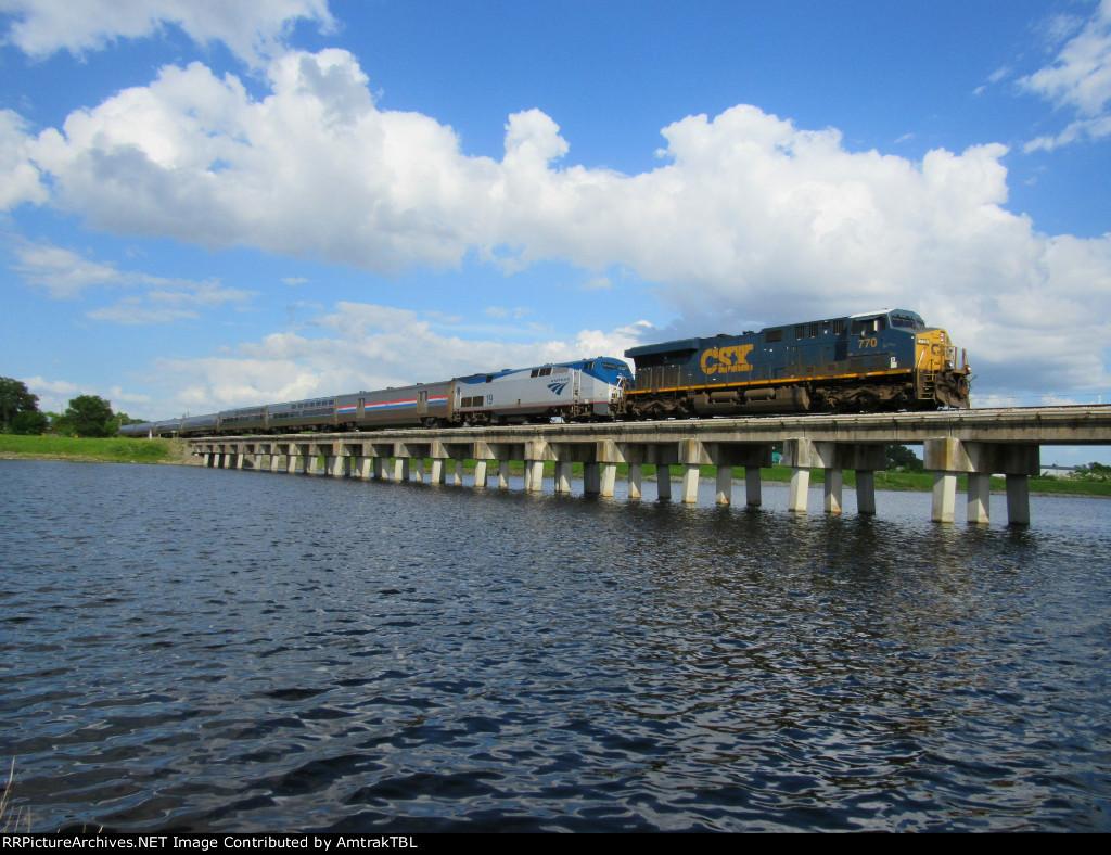 CSX leads Amtrak P092!