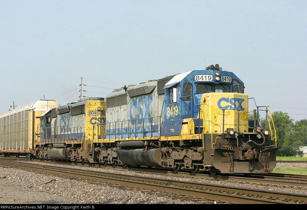 CSX 8419