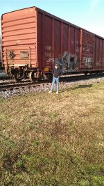 Standing by Boxcar