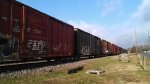 Line of Boxcars