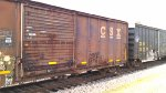 Dirty CSX Boxcar