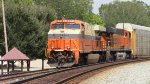 NS 276 with Interstate Heritage and a BNSF GEVO.