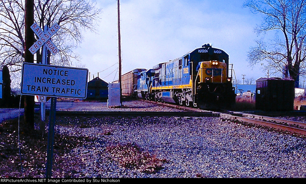 CSX/Conrail at Upper Sandusky, OH in 1999