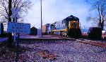 CSX/Conrail at Upper Sandusky, OH in 1999