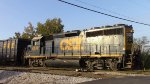 CSX GP40-2 Switching