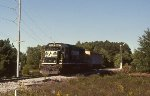 NS local P85 comes down SCRM trackage to serve Guardian Industries.