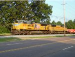A nice UP SD70ACe leads 22N thru Germantown