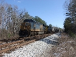 CSX 818 WB Hoppers by Norge