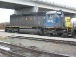 CSX 4617 C&O resting in Downtown Newport News