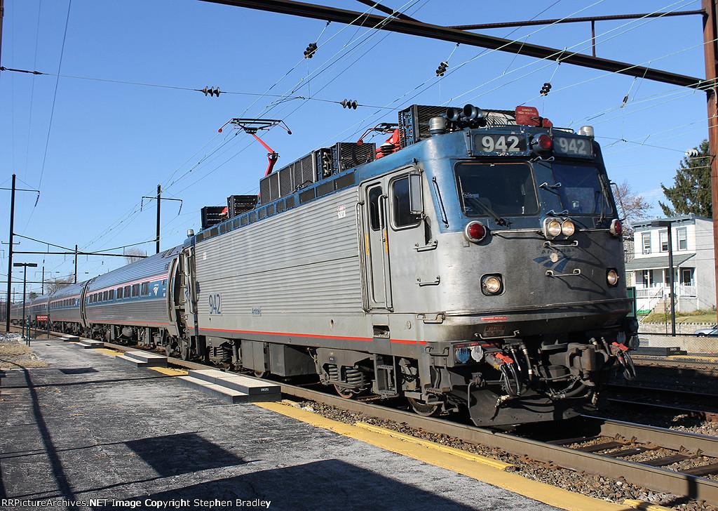 Keystone Service train 662