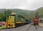 Lehigh Gorge Scenic Railway bike train