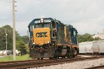 CSX GP40-2 6931 and mate 2255