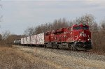 CP 9367 Leads an Eastbound