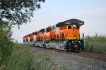 BNSF 3849 Brings Up the Rear of This All September Built ET44C4'S Heading Northbound towards BNSF Alliance  Texas Yard with The BNSF Test Locomotive Crew at the Helm. The Conductor was sitting in BNSF 3849 as they Have to Reverse the consist into BNSF All