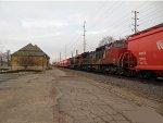 C&NW Oshkosh, WI Depot with CN 2158 and CN 2290