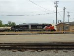 IC 9638 and IC 3107 at C&NW Appleton Junction, WI Depot/Yard Office